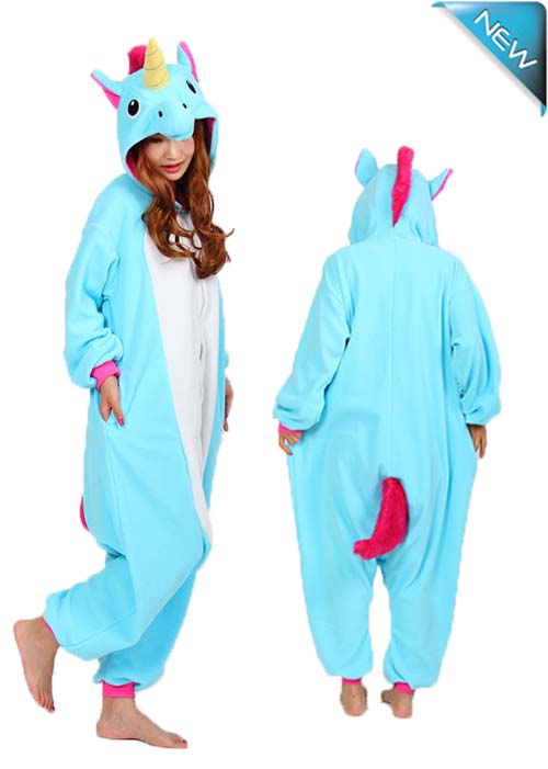 royal blue unicorn onesie
