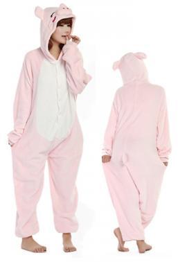 f3e8da5eb8ea Pink Pig Onesie