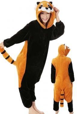 Image of: Onesie Pajamas Raccoon Onesie Kcm Australia Onesie Raccoon Onesie The North American Red Panda