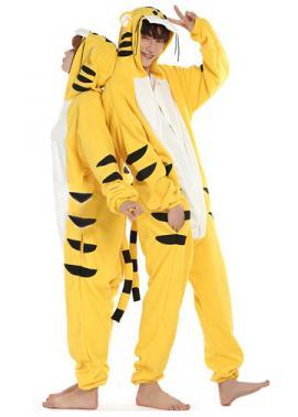 9b90eb487b50 Yellow Tiger Onesie