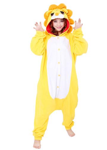 Adult Lion Onesie Costume