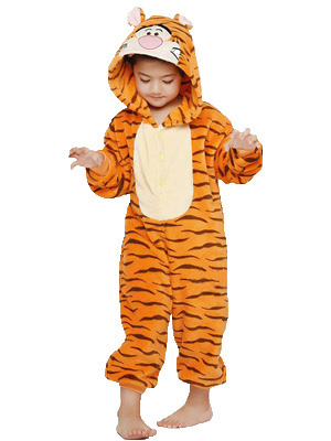 Orange tiger kid 1